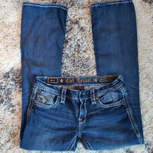 Rock Revival Betty Easy Boot Cut Jeans.  Size 29.